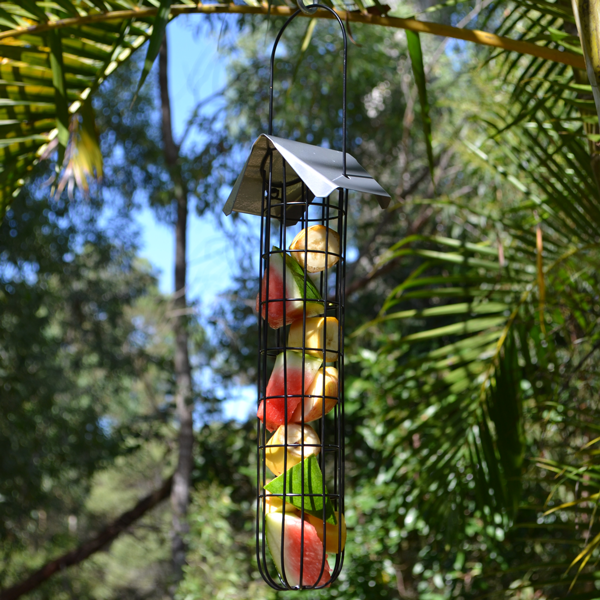 Fruit-Tube-Feeder-(Grey)-Featured
