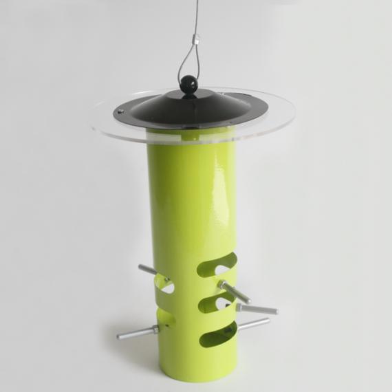 Sheltered-Tube-Feeder-(Green)