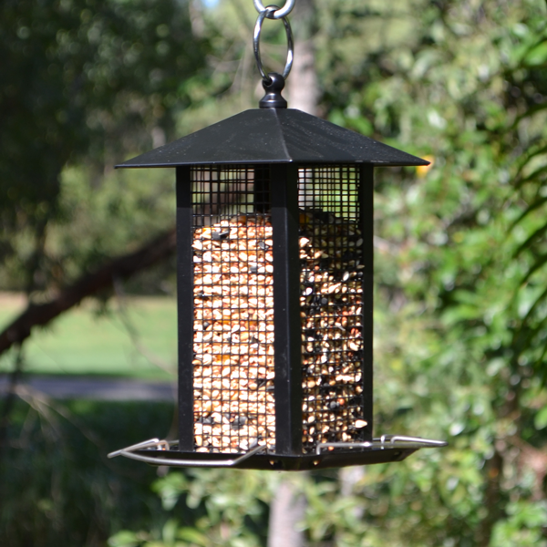 Zen-Bird-Feeder Mesh-(Black)-Featured