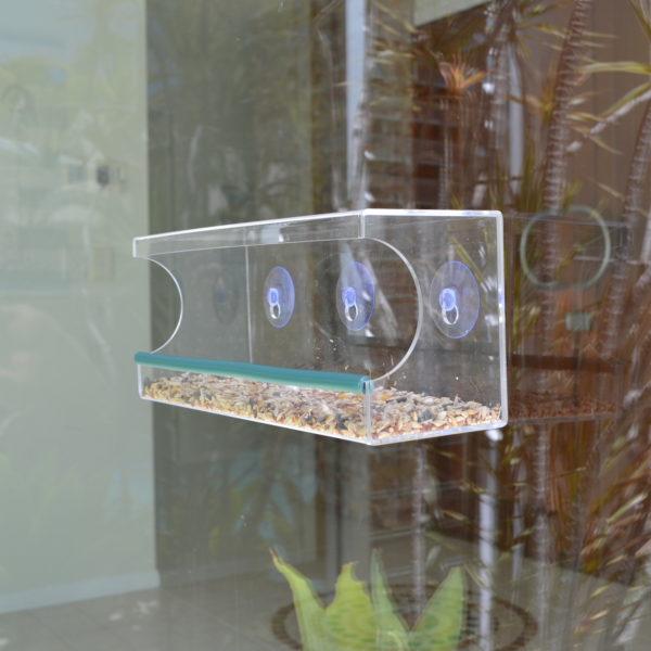 Jumbo-Classic-Window Bird Feeder