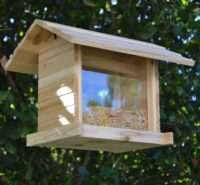 Wooden Bird Feeder for Australian wild birds Cafe Feeder image 1