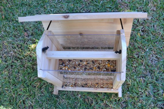 Wooden Bird Feeder for Australian wild birds Cafe Feeder image 9