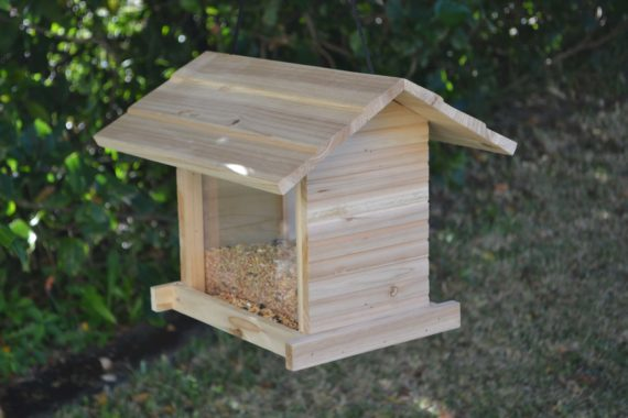 Wooden Bird Feeder for Australian wild birds Cafe Feeder image 3