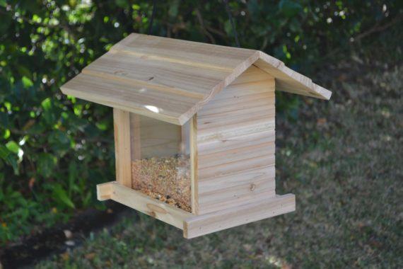 Wooden Bird Feeder for Australian wild birds Cafe Feeder image 3