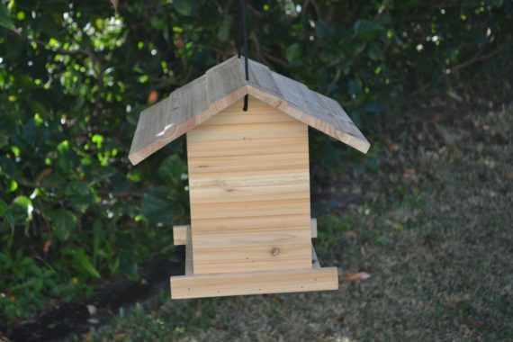 Wooden Bird Feeder for Australian wild birds Cafe Feeder image 4