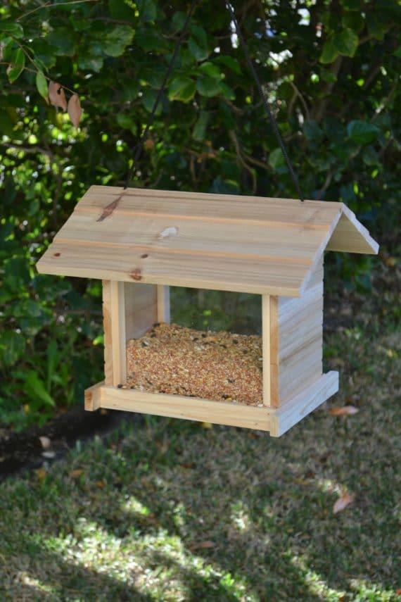 Wooden Bird Feeder for Australian wild birds Cafe Feeder image 5