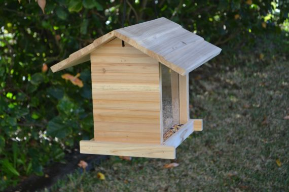 Wooden Bird Feeder for Australian wild birds Cafe Feeder image 6