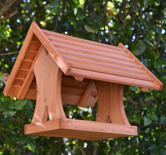 Wooden Bird Feeder for Australian wild birds Lodge Feeder image 1