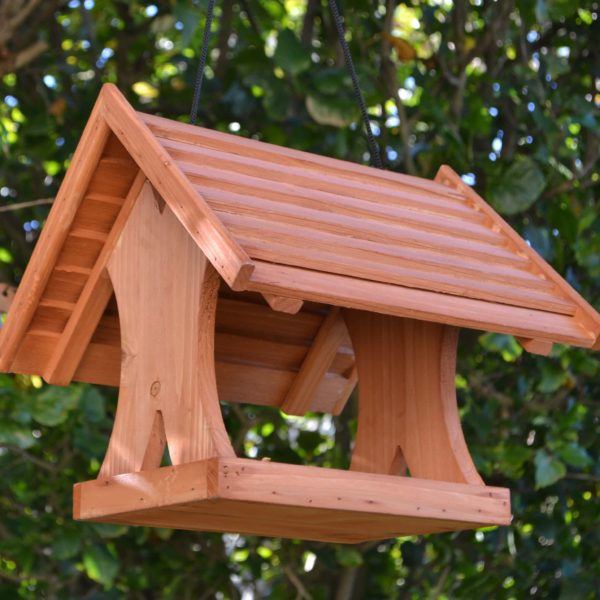 Wooden Bird Feeder for Australian wild birds Lodge Feeder image 1