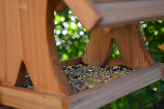 Wooden Bird Feeder for Australian wild birds Lodge Feeder image 10
