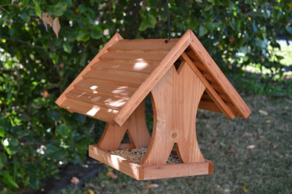 Wooden Bird Feeder for Australian wild birds Lodge Feeder image 2