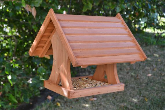Wooden Bird Feeder for Australian wild birds Lodge Feeder image 3