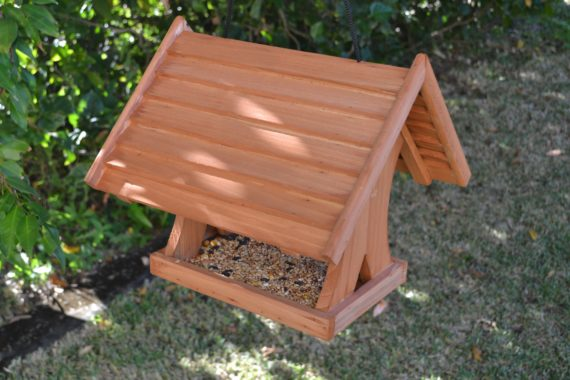 Wooden Bird Feeder for Australian wild birds Lodge Feeder image 5