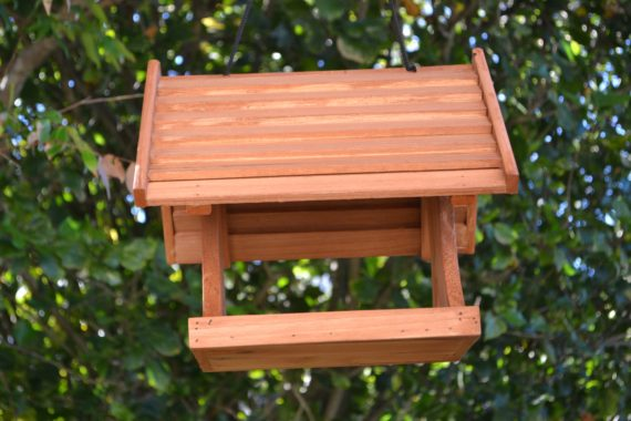 Wooden Bird Feeder for Australian wild birds Lodge Feeder image