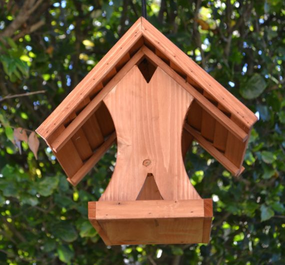Wooden Bird Feeder for Australian wild birds Lodge Feeder image 7