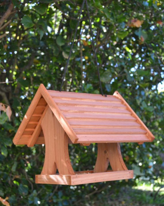 Wooden Bird Feeder for Australian wild birds Lodge Feeder image 8