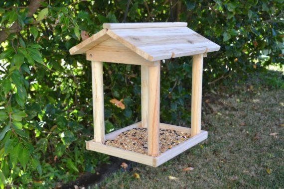 Wooden Bird Feeder for Australian wild birds Pavilion Feeder image 2