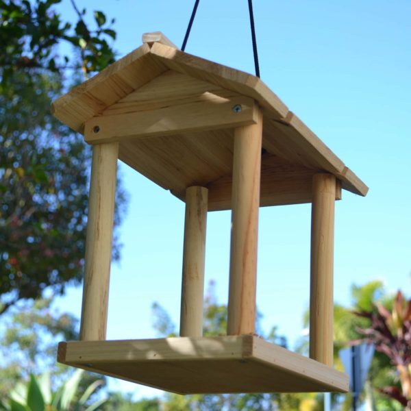 Wooden Bird Feeder for Australian wild birds Pavilion Feeder image 3