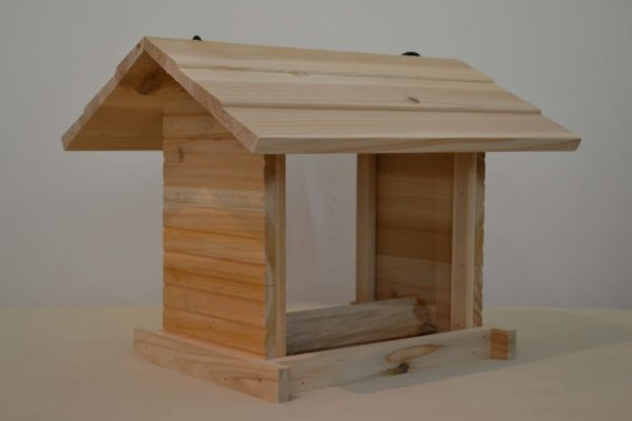 Wooden Bird Feeder for Australian wild birds Cafe Feeder studio