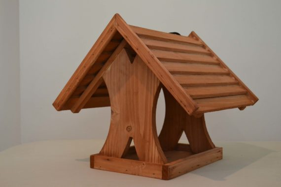 Wooden Bird Feeder for Australian wild birds Lodge Feeder studio