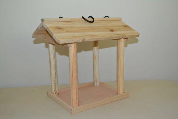 Wooden Bird Feeder for Australian wild birds Pavilion Feeder studio